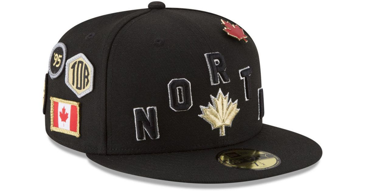 large discount look out for best cheap KTZ Synthetic Toronto Raptors City On-court 59fifty Fitted Cap in ...