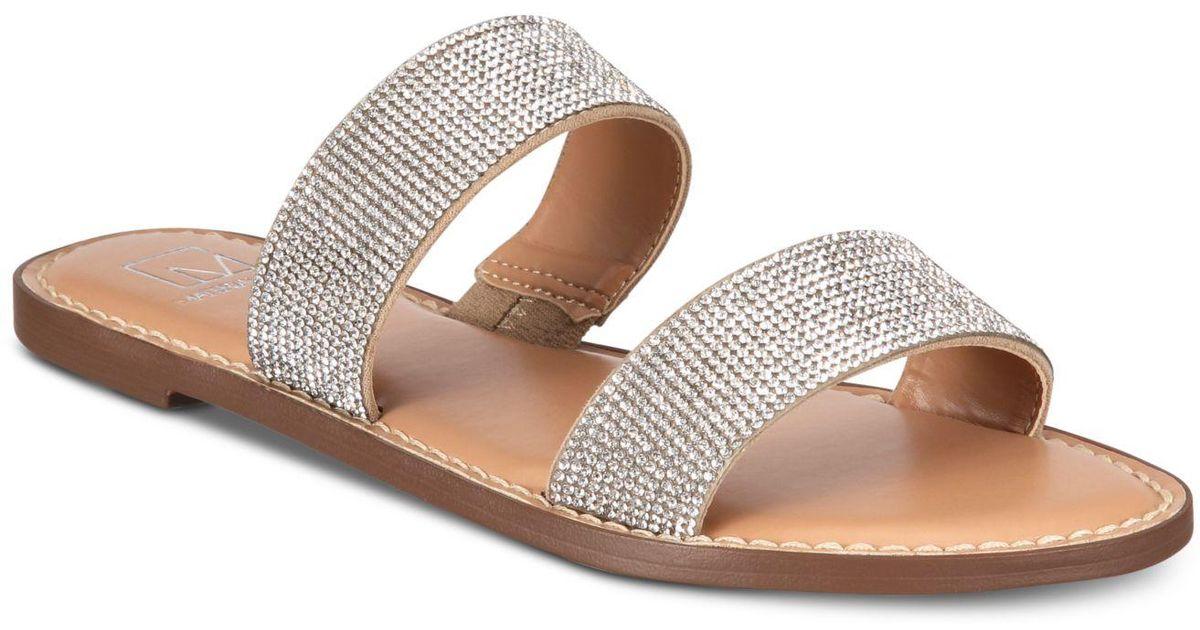 Material Girl Ginnie Flat Sandals