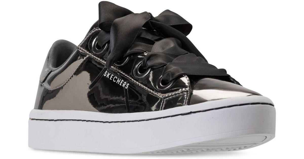 Skechers Black Hi lites Liquid Bling Casual Sneakers From Finish Line