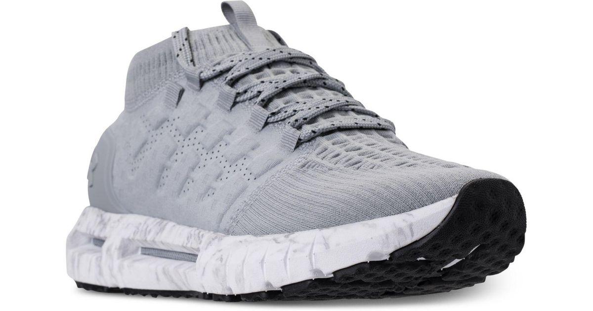 brand new 2cbf3 dbc96 Under Armour Gray Hovr Phantom Running Sneakers From Finish Line for men