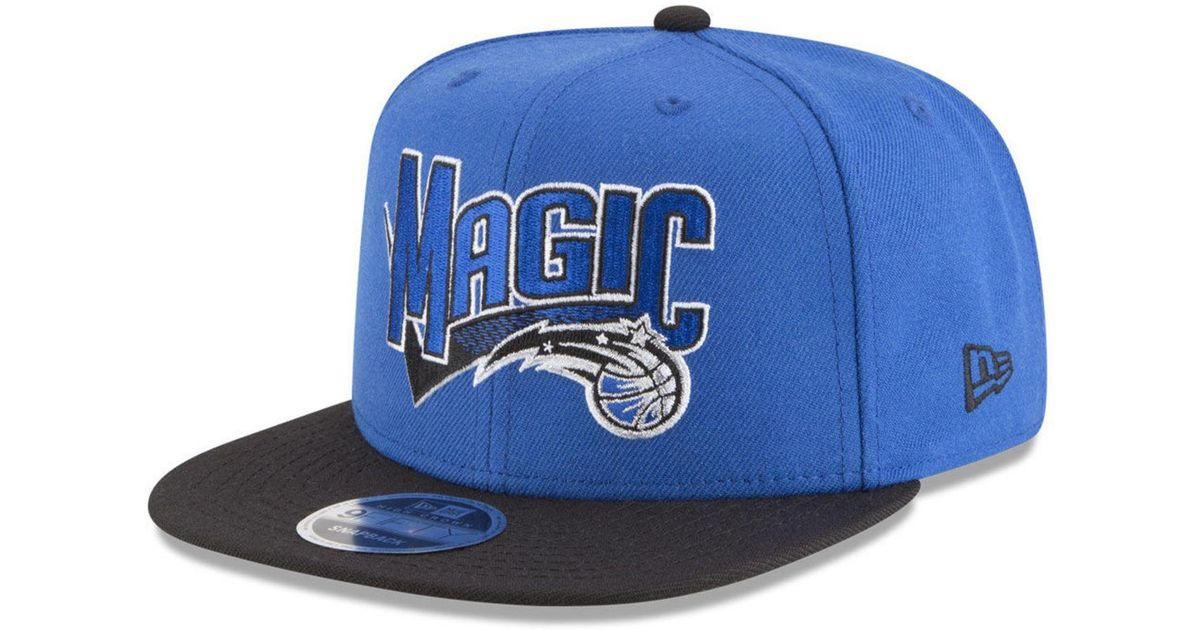 super popular 9ddf5 131a3 Lyst - KTZ Orlando Magic Retro Tail 9fifty Snapback Cap in Blue for Men