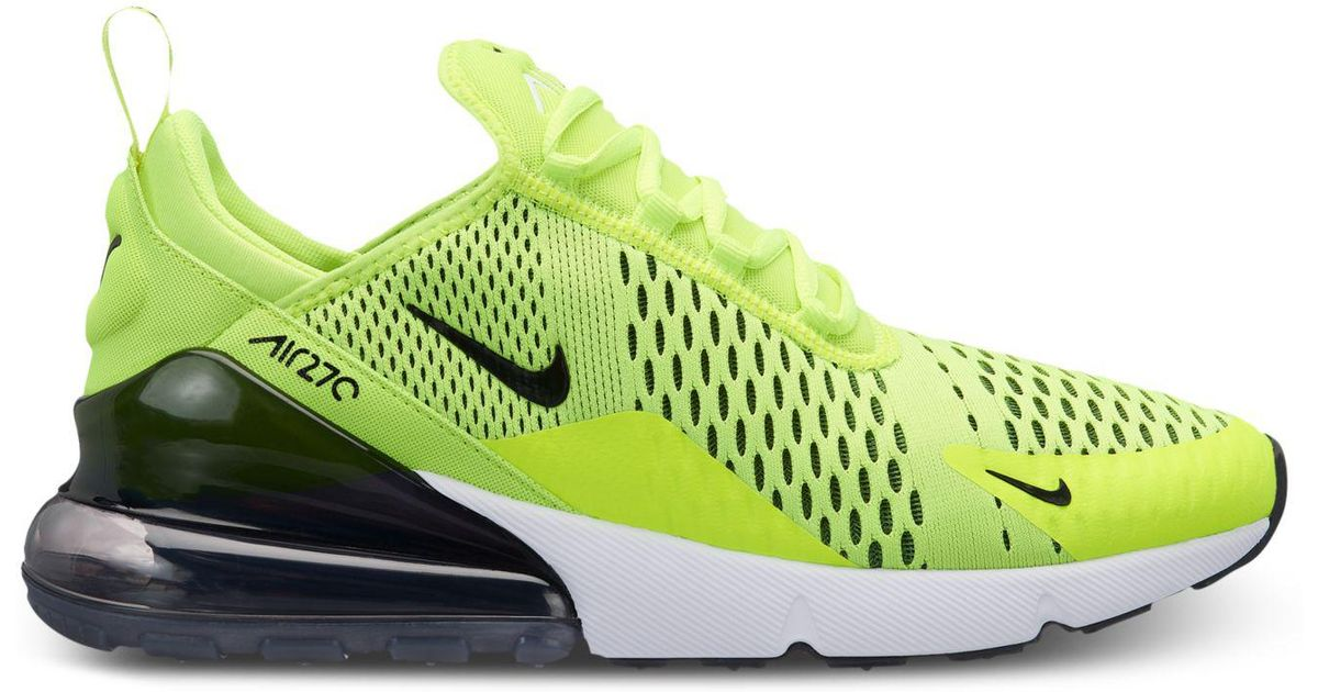 new concept 5d3c3 19e23 Nike Multicolor Air Max 270 Casual Sneakers From Finish Line for men
