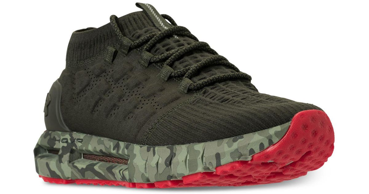 sale retailer 946f4 fc960 Under Armour Green Hovr Phantom Nm2 Running Sneakers From Finish Line for  men