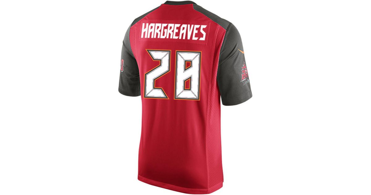 pretty nice 8791a 5a746 Nike Red Men's Vernon Hargreaves Iii Tampa Bay Buccaneers Game Jersey for  men