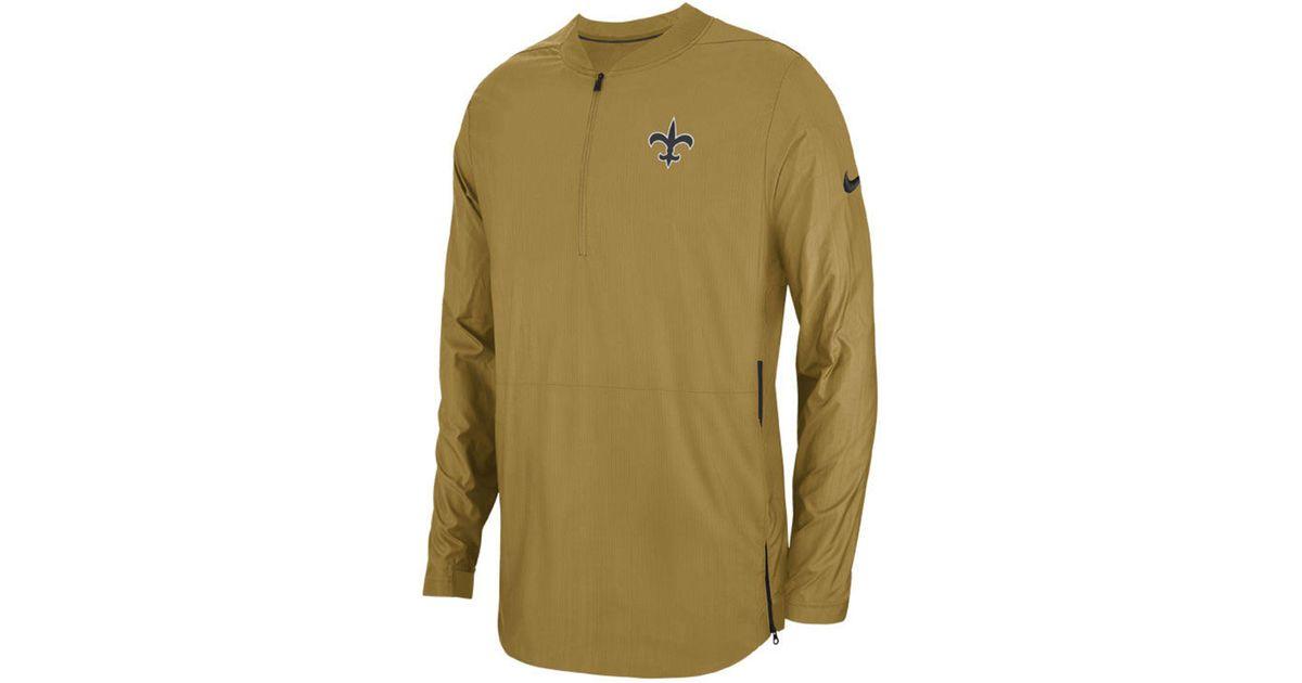 online store df3cd fdae1 Nike Metallic New Orleans Saints Lockdown Jacket for men