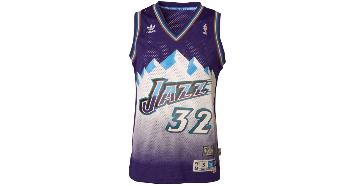 on sale 8da45 e8df0 Adidas Purple Men's Karl Malone Utah Jazz Swingman Jersey for men