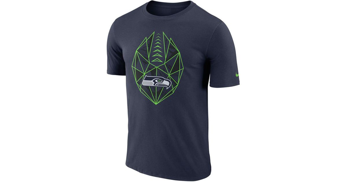 ce50919db Lyst - Nike Seattle Seahawks Icon T-shirt in Blue for Men