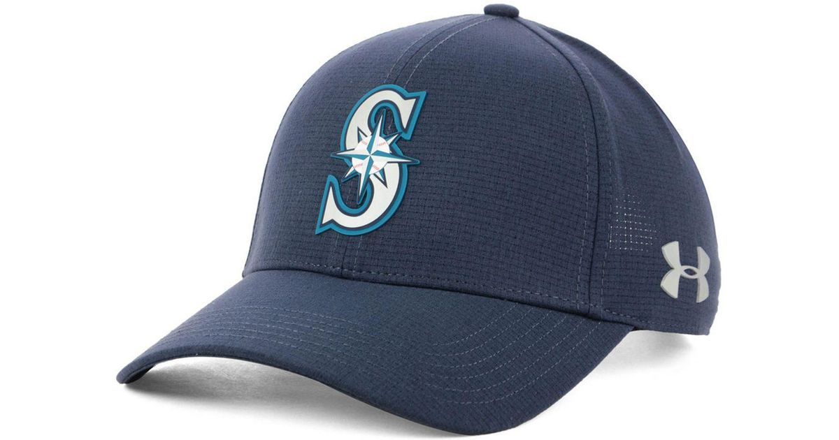 8e092ab837b ... low price lyst under armour seattle mariners driver cap in blue for men  ccab6 d8152