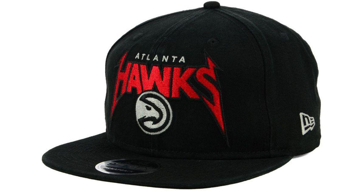 best choice beauty ever popular KTZ Cotton Atlanta Hawks 90s Throwback Groupie 9fifty Snapback Cap ...
