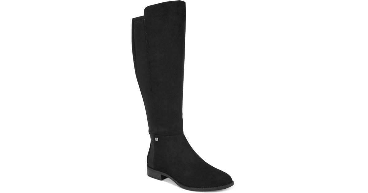 f9e13a1ff09 Lyst - Alfani Women s Step  n Flex Pippaa Wide-calf Boots in Black