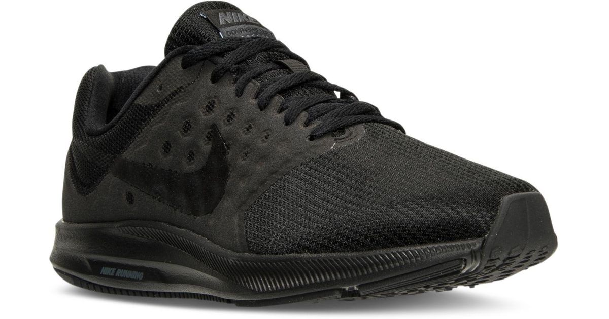 f5541010c07b Lyst - Nike Men s Downshifter 7 Running Sneakers From Finish Line in Black  for Men