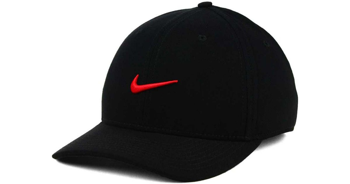 f8f378f1 Lyst - Nike Classic Swoosh Flex Cap in Black for Men