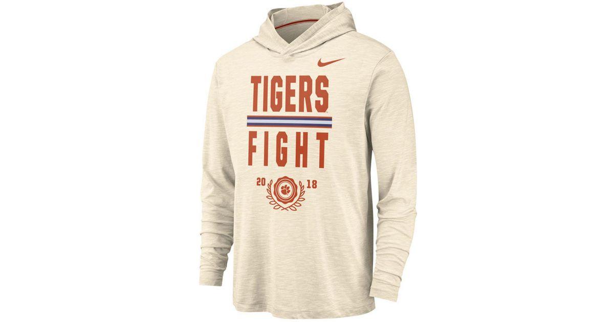 Clemson Tigers Hooded Sweatshirt Nike Classic Hoody