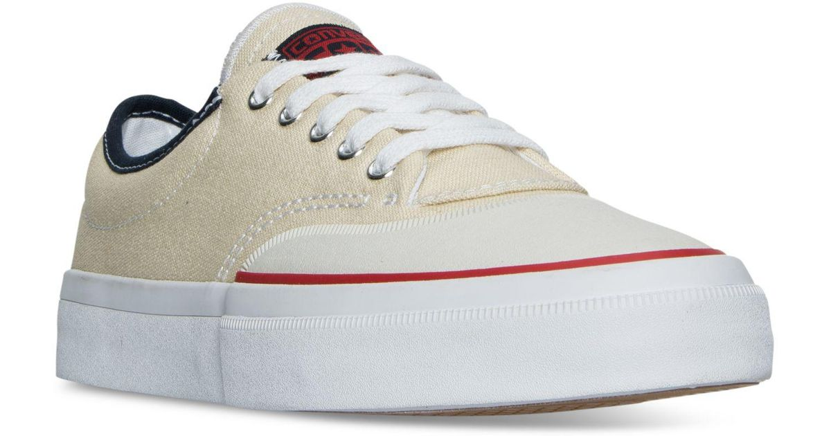 879b2b442782dd Lyst - Converse Men s Chuck Taylor All Star Crimson Ox Casual Sneakers From Finish  Line in White for Men