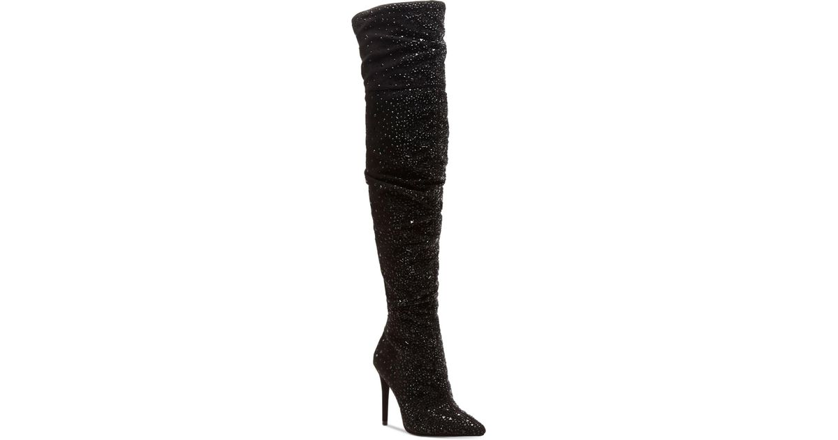f592d97f012 Lyst - Jessica Simpson Luxella Over The Knee Boots in Black