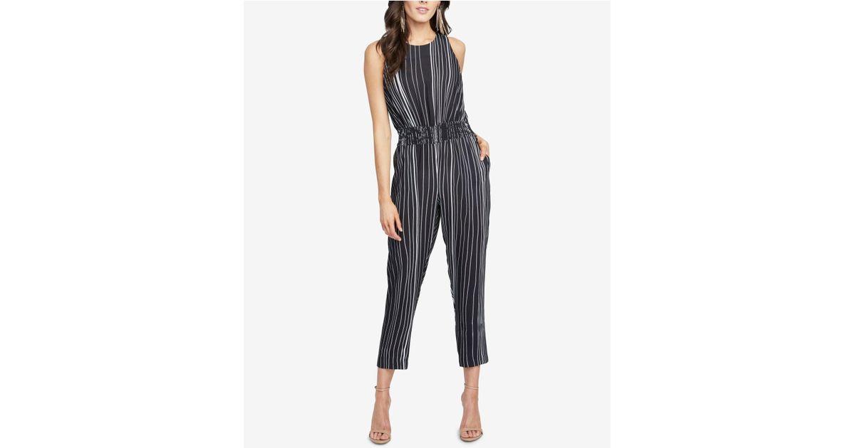 690a6f36fd70 Lyst - Rachel Rachel Roy Lucia Striped Jumpsuit