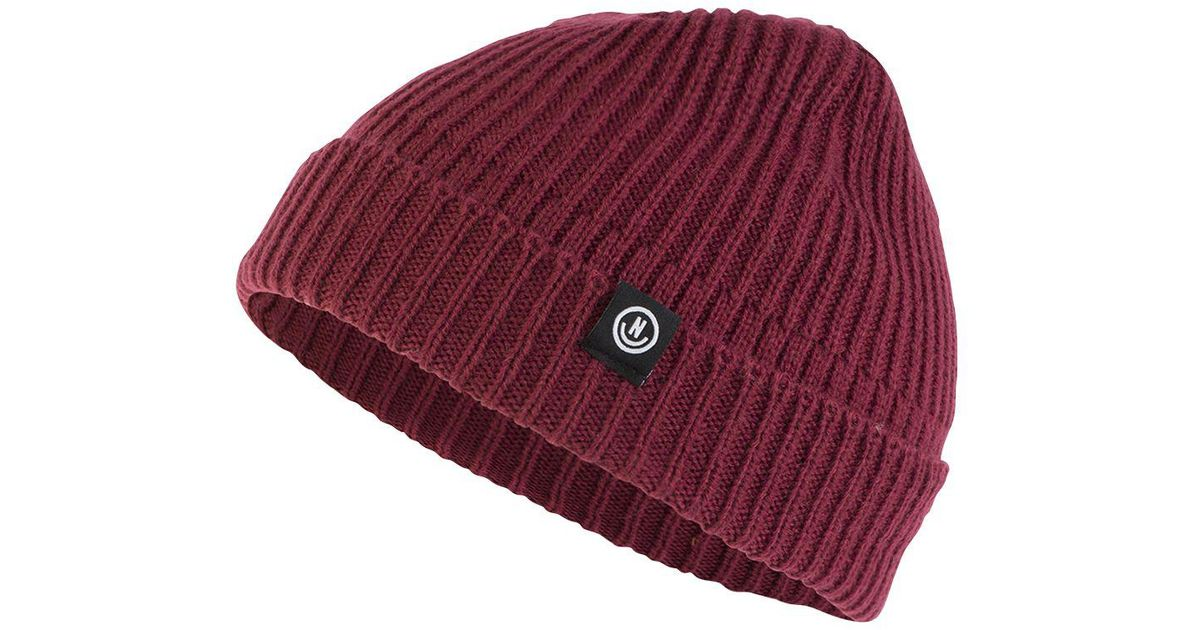 Lyst - Neff Men s Fisherman Beanie in Red for Men 0ceb24273c8