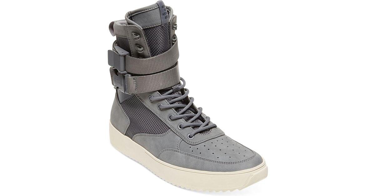 Zeroday High-top Sneakers in Grey