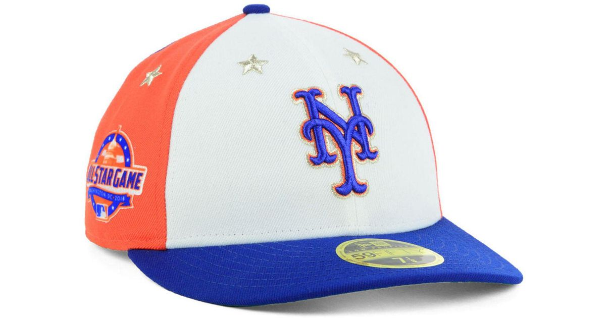 Lyst - KTZ New York Mets All Star Game Patch Low Profile 59fifty Fitted Cap  2018 for Men d16f978cdf5