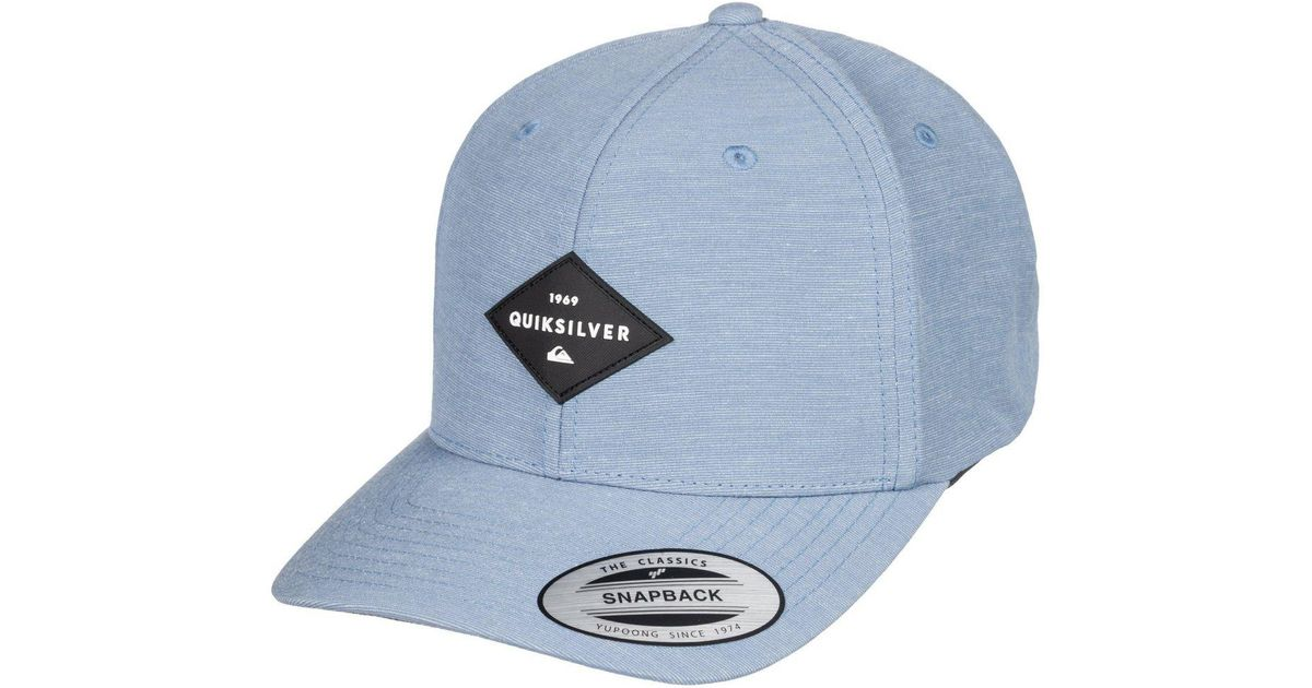 Lyst - Quiksilver Union Heather Snapback Hat in Blue for Men 06f8d5e8880a