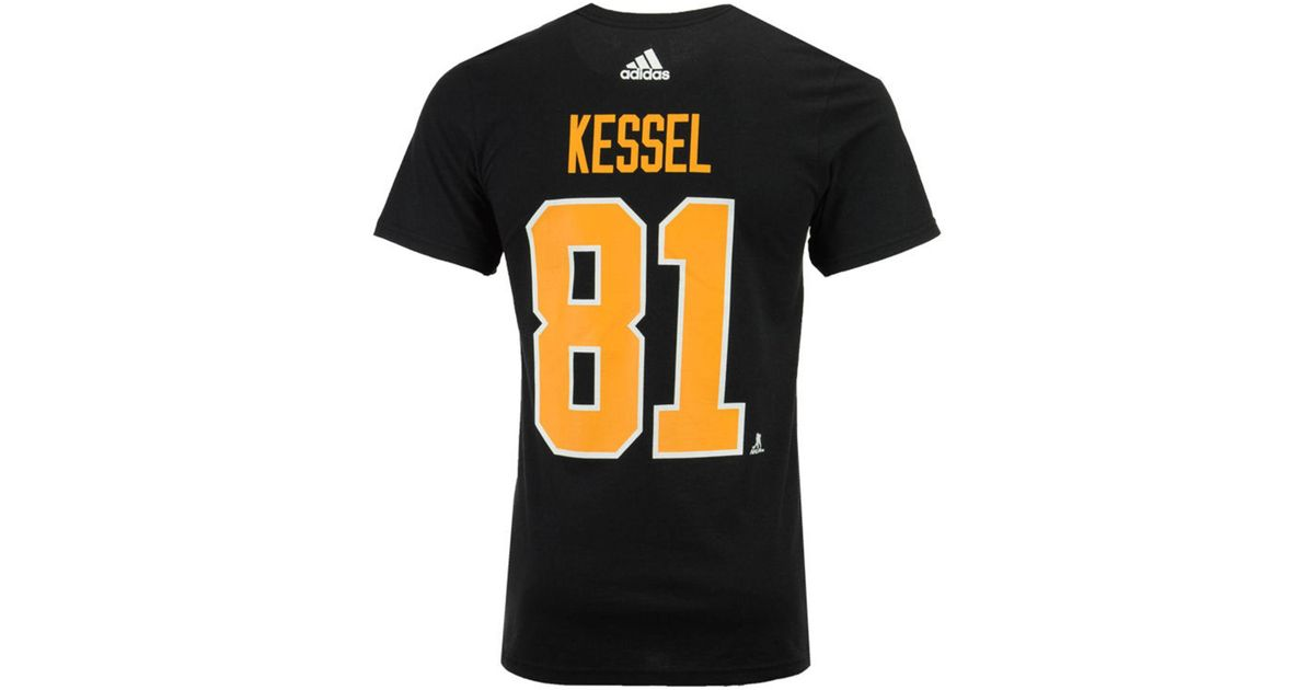 Lyst - Adidas Phil Kessel Pittsburgh Penguins Silver Player T-shirt in  Black for Men 51532d448