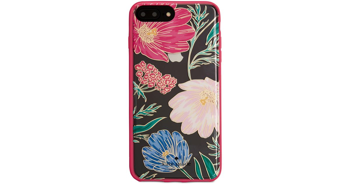 outlet store 936b5 f7d1b Kate Spade - Multicolor Iphone 8 Plus Blossom Case - Lyst
