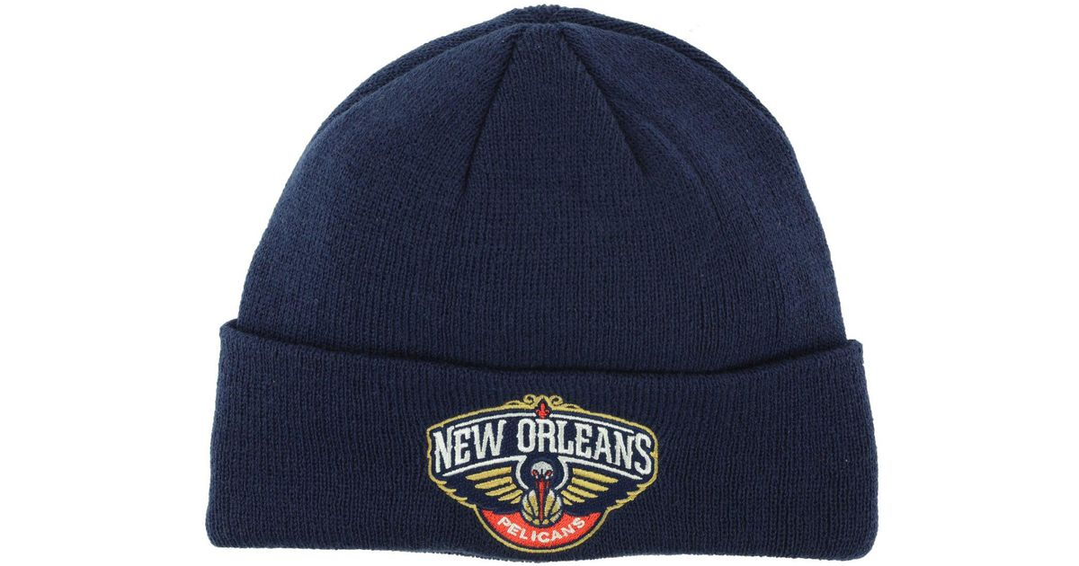 Adidas Blue New Orleans Pelicans Cuff Knit Hat For Men Lyst