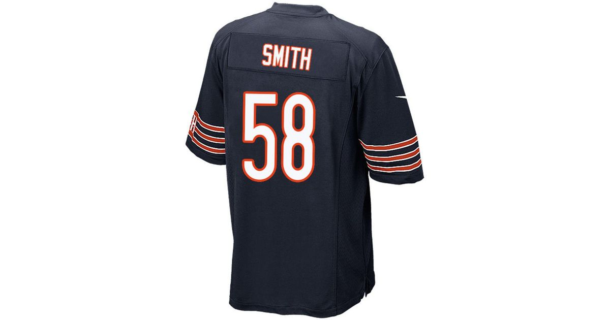 5e5c743a2cb Lyst - Nike Roquan Smith Chicago Bears Game Jersey in Blue for Men
