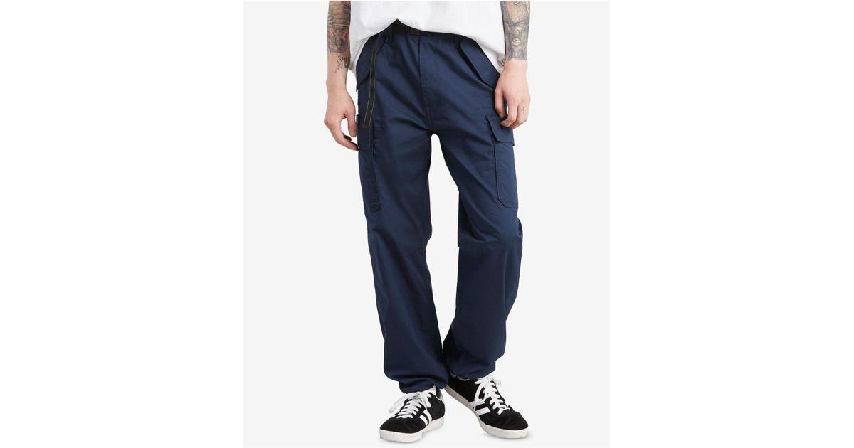6d4ba3ef Levi's Banded Carrier Cargo Pants in Blue for Men - Lyst