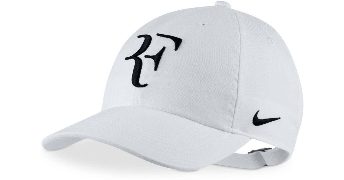 Lyst - Nike Court Federer Tennis Hat in White for Men 472e699dcbb