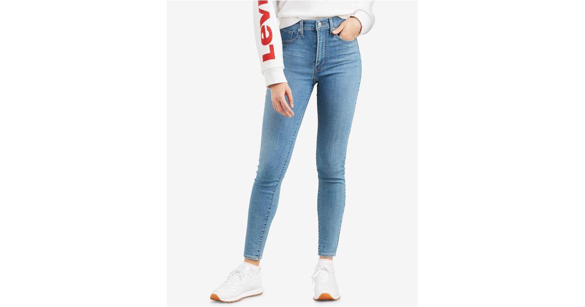 e9e630de51a6 Levi's Mile High Super Skinny Jeans Math Club in Blue - Lyst