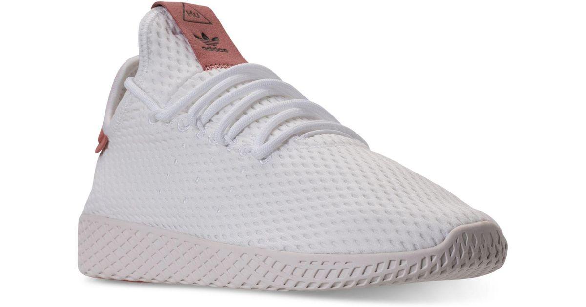 ef39ec14e339b Lyst - adidas Men s Originals Pharrell Williams Tennis Hu Casual Sneakers  From Finish Line for Men