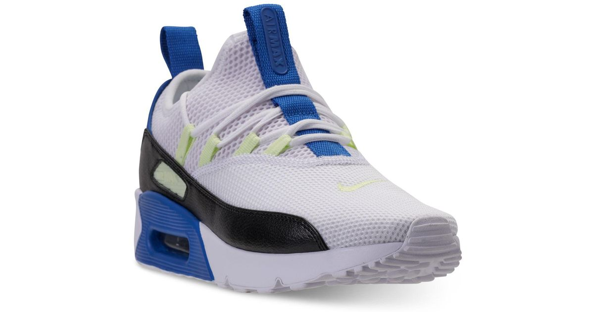 Nike Blue Air Max 90 Ultra 2.0 Ease Casual Sneakers From Finish Line