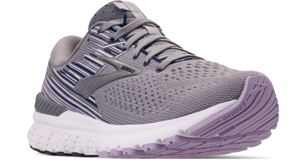 e74df3a7e0258 Lyst - Brooks Gts 19 Running Sneakers From Finish Line in Gray