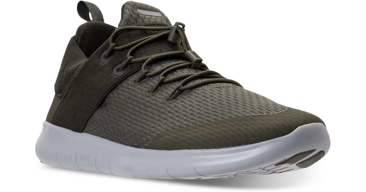 Lyst - Nike Men's Free Run Commuter 2017 Running Sneakers From Finish Line in Black for Men