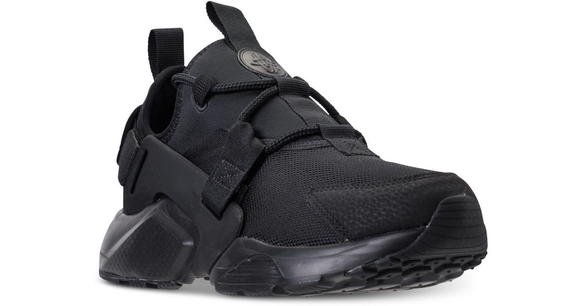702c57763933 Lyst - Nike Air Huarache City Low Casual Sneakers From Finish Line in Black