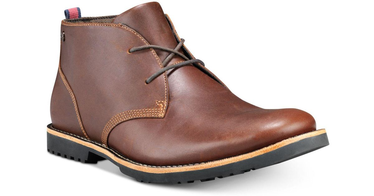 07d0466a0c6 Timberland Brown Richdale Leather Chukka Boots, Created For Macy's for men