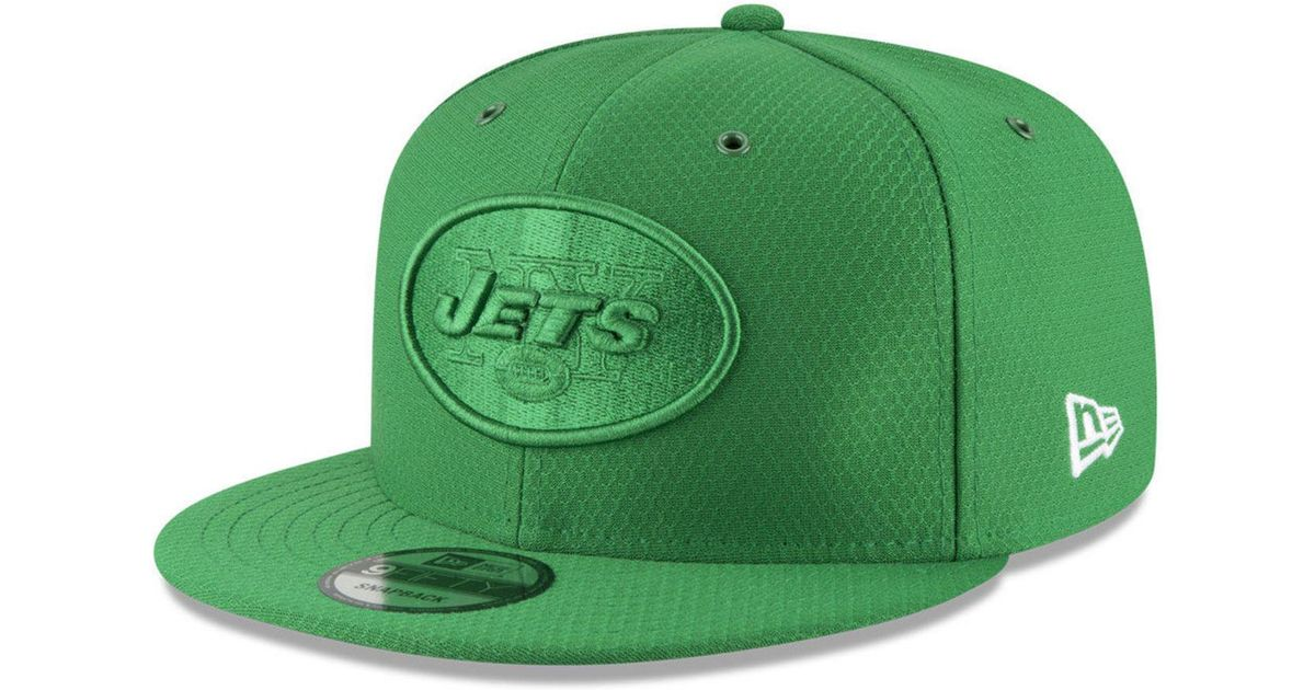b93ad8883 Lyst - KTZ New York Jets On Field Color Rush 9fifty Snapback Cap in Green  for Men