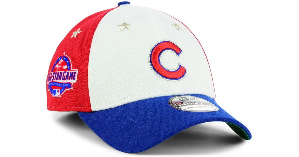 64f105eb7fa Lyst - KTZ Chicago Cubs All Star Game 39thirty Stretch Fitted Cap 2018 for  Men