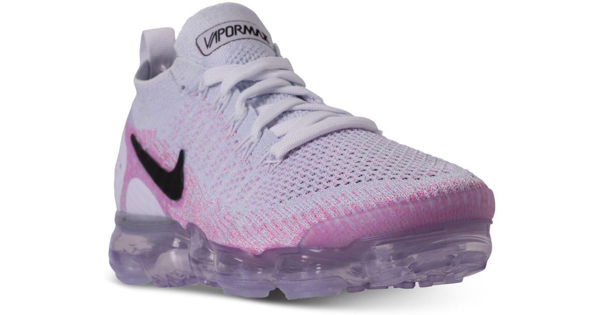 buy popular e0d32 7e04f Nike Purple Air Vapormax Flyknit 2 Running Sneakers From Finish Line