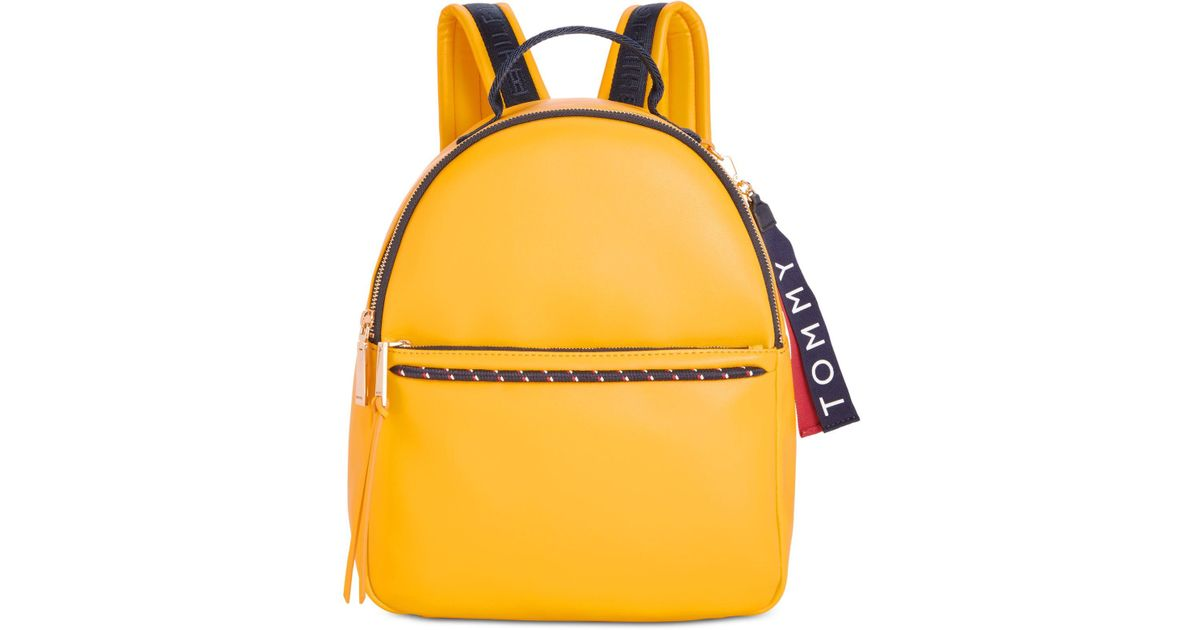 pretty nice search for authentic best authentic Tommy Hilfiger Yellow Devon Backpack