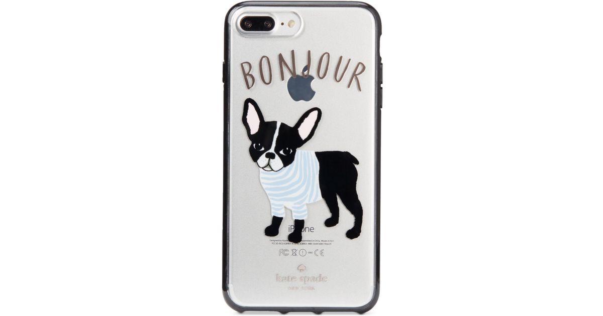 outlet store f6bc7 c83a1 Kate Spade Multicolor Bonjour Iphone 8 Plus Case