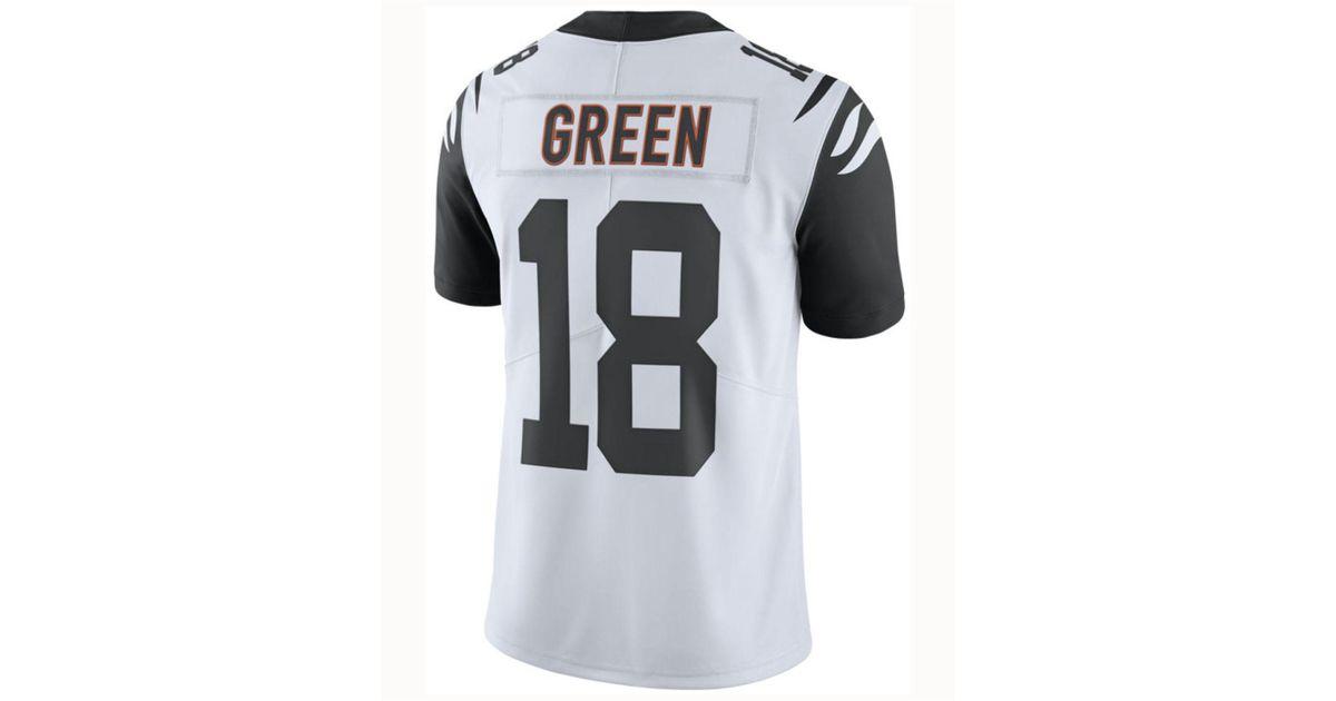 size 40 c6626 7e46b Nike White A.j. Green Cincinnati Bengals Limited Color Rush Jersey for men