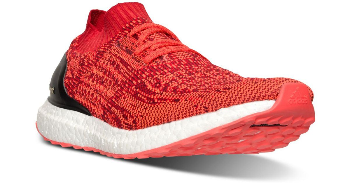 613676c6e22d4 ... usa lyst adidas ultra boost uncaged running sneakers from finish line  in red for men 3e74b