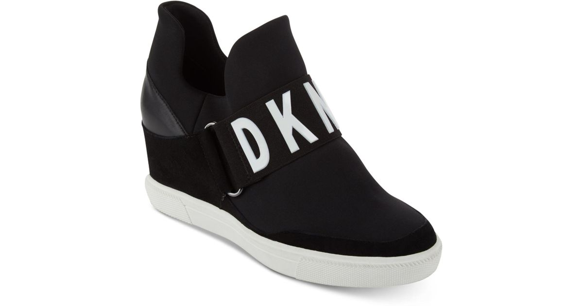 4eba2aa1e736 Lyst - DKNY Cosmos Platform Sneakers