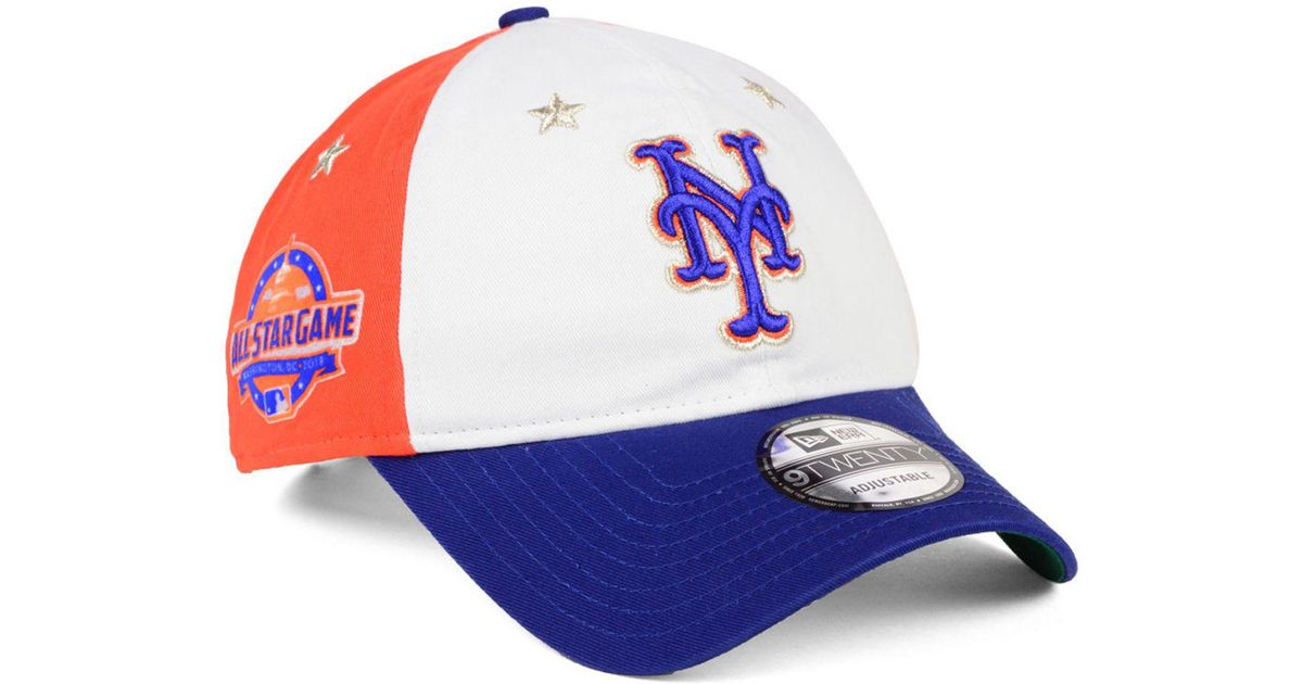 6cc8411d64573 Lyst - KTZ New York Mets All Star Game 9twenty Strapback Cap 2018 for Men