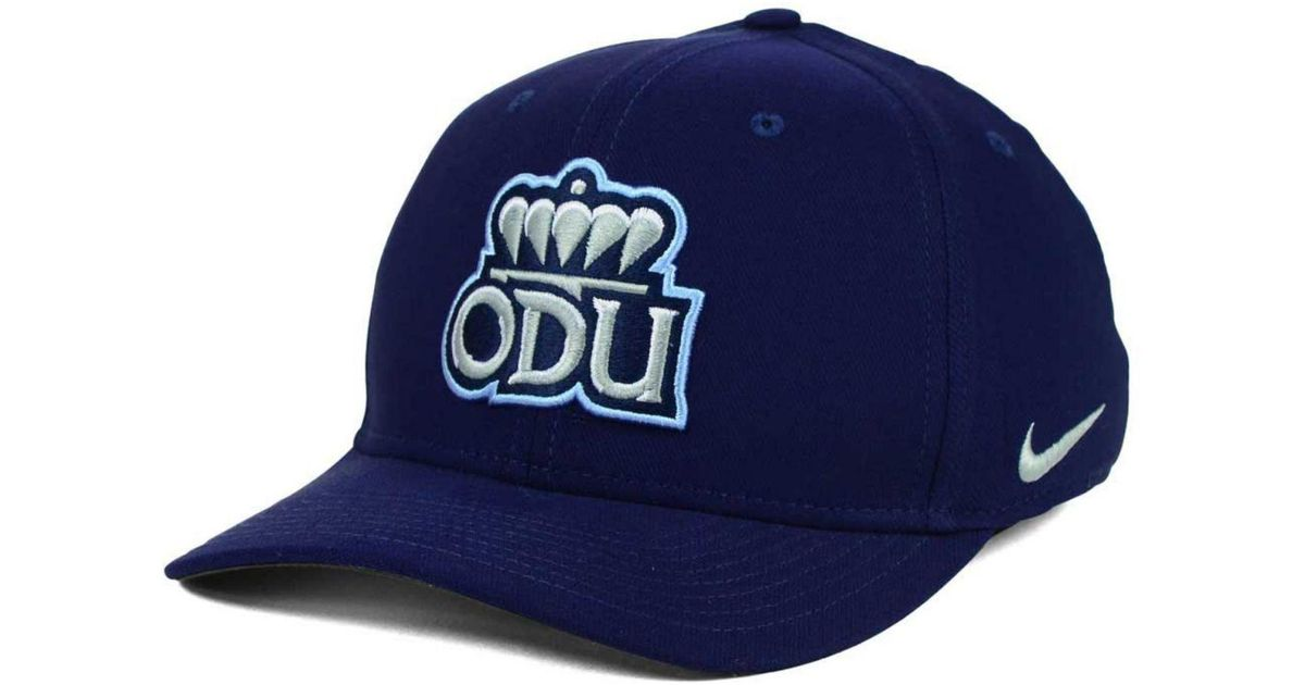 Lyst - Nike Old Dominion Monarchs Classic Swoosh Cap in Blue for Men dc7caf4eb2a