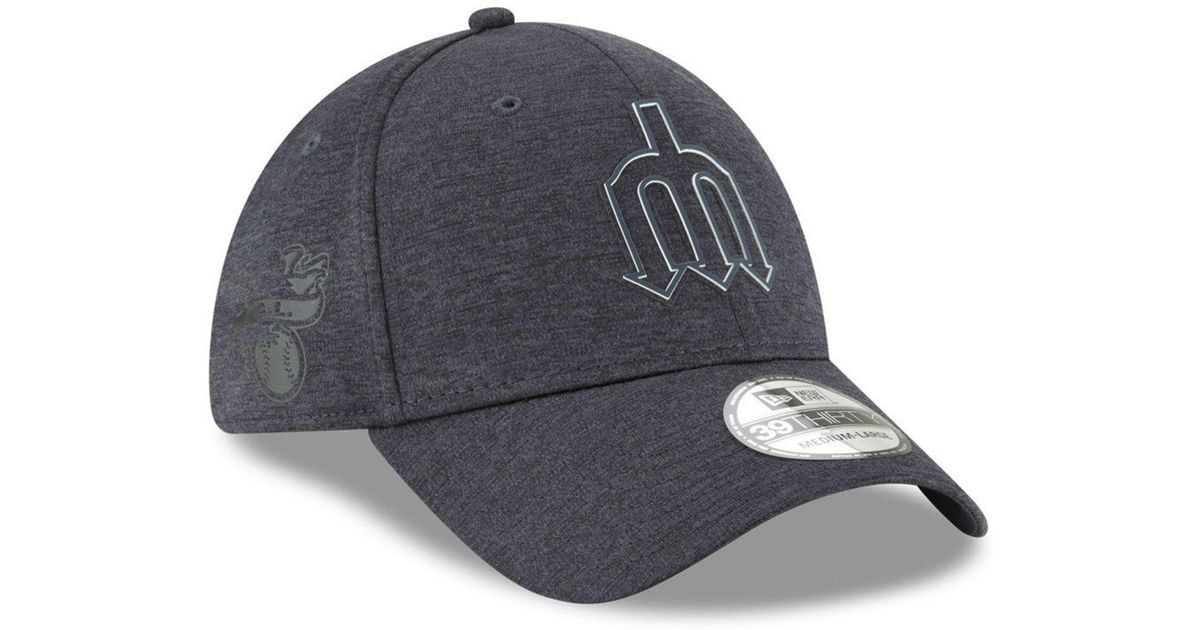 los angeles 43f71 e67ad ... greece lyst ktz seattle mariners clubhouse 39thirty cap in blue for men  af26f 37fc2