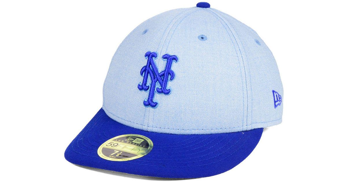 super popular f121c 7b2db Lyst - KTZ New York Mets Father s Day Low Profile 59fifty Cap in Blue for  Men