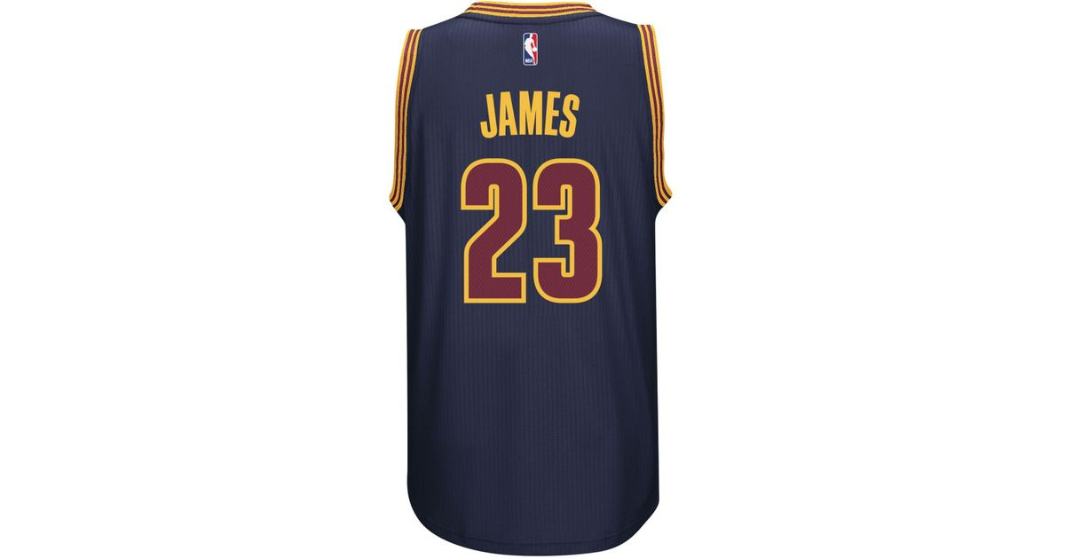 7a2d64a9145 adidas Men's Lebron James Cleveland Cavaliers Swingman Jersey in Blue for  Men - Lyst